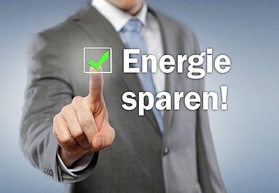 Sparen Sie Energiekosten